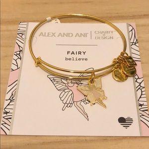 Alex and Ani Fairy bangle